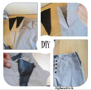 aggrandir un pantalon trop serre, tuto diy couture, free pattern diy