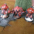 Warmachine: khador, photos de groupe, mallette battle foam