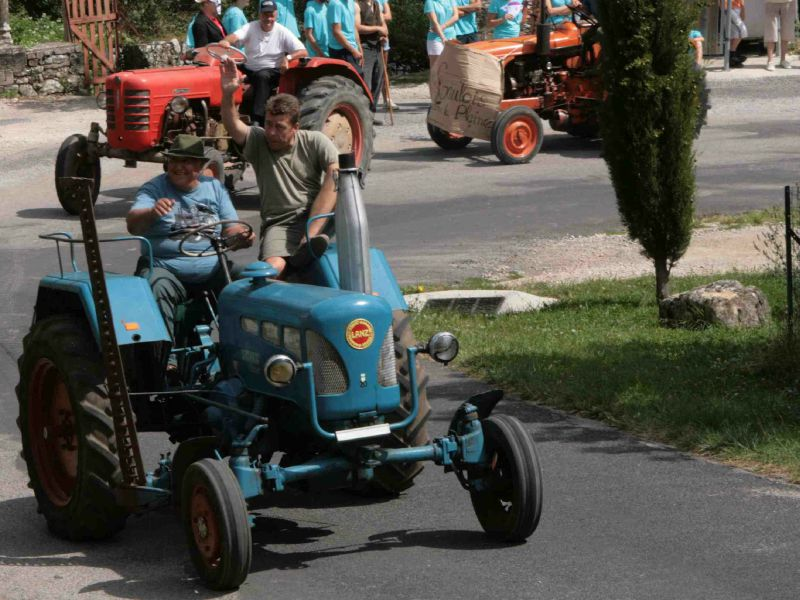 CORNUS - Rando tracteurs 2011 - Lanz