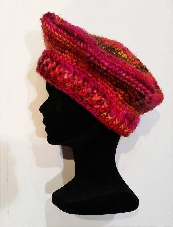 Nouveau défi beret crochet - Easy Crochet ae007fd8fb4