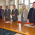 Signature d'une convention de partenariat avec la compagnie de chauffage grenobloise