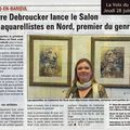 Aquarellistes en nord (fra) : dans la presse / in the public eye
