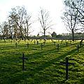 Der deutscher soldatenfriedhof von lambersart