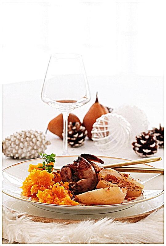 omnicuiseur-caille-poire-foie gras-butternut-basse température