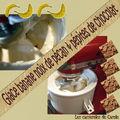 Glace banane noix pecan & pépites de chocolat