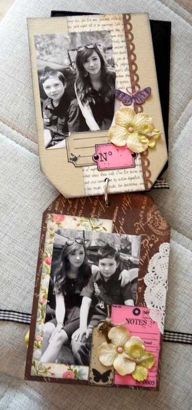mini album Carpe Diem pages 2 et 3