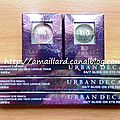 Nouveautes urban decay : moondust eyeshadows & 24/7 glide on pencils