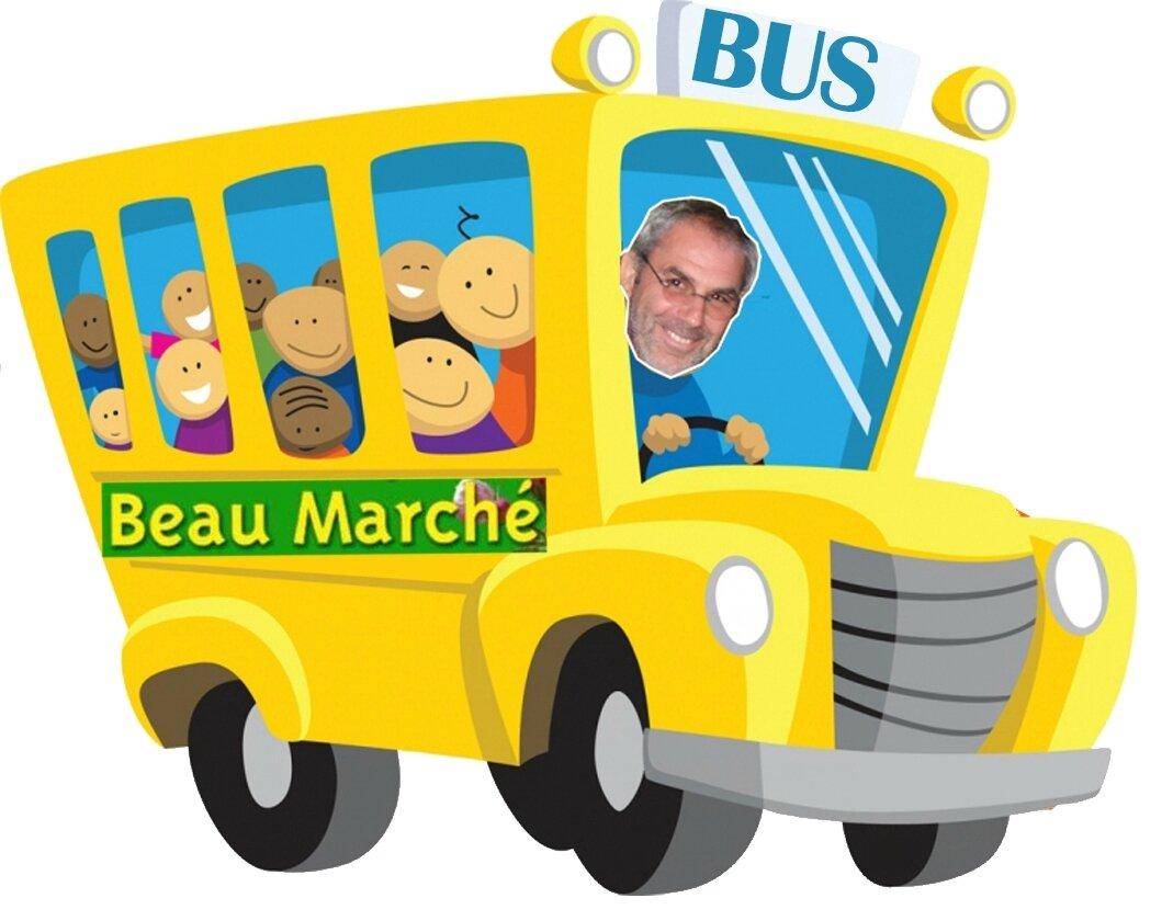 Samedi 8 Avril, allez au Beau Marché en Bus !