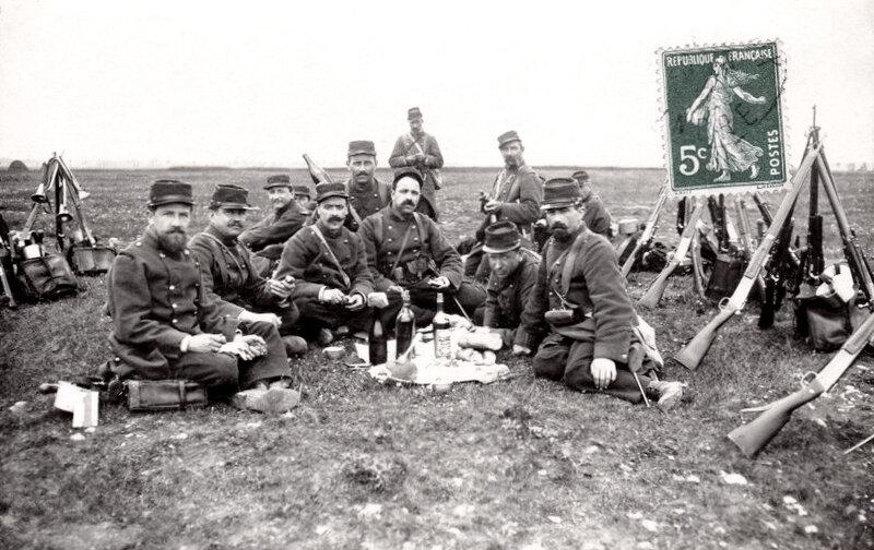 90e rgt de ligne, 1912
