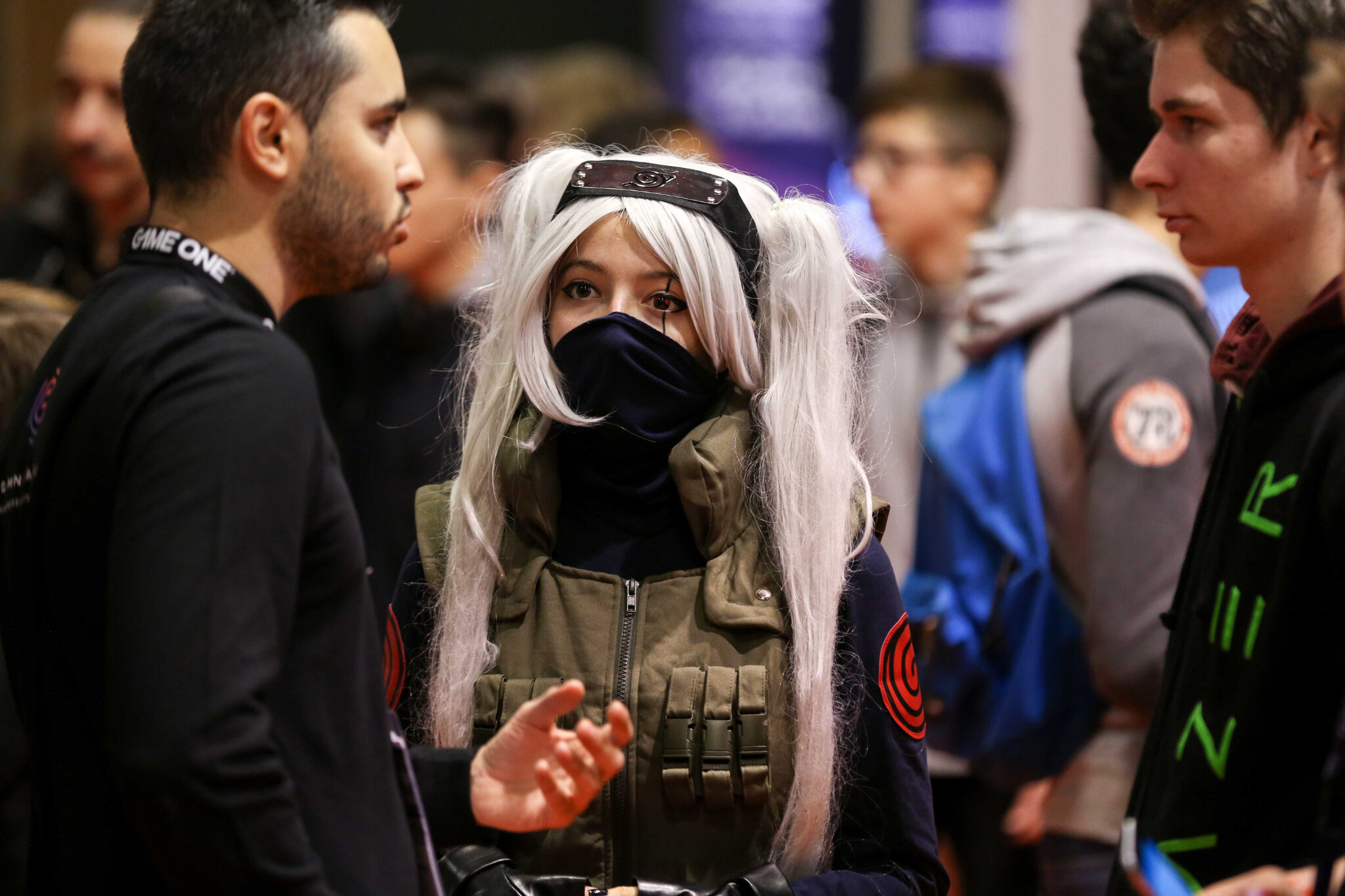 Games Week. Le cosplay ou l'art du déguisement. © Michel Stoupak. Ven 26.10.2018, 09h49m42.