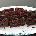 Brownies extra-noir