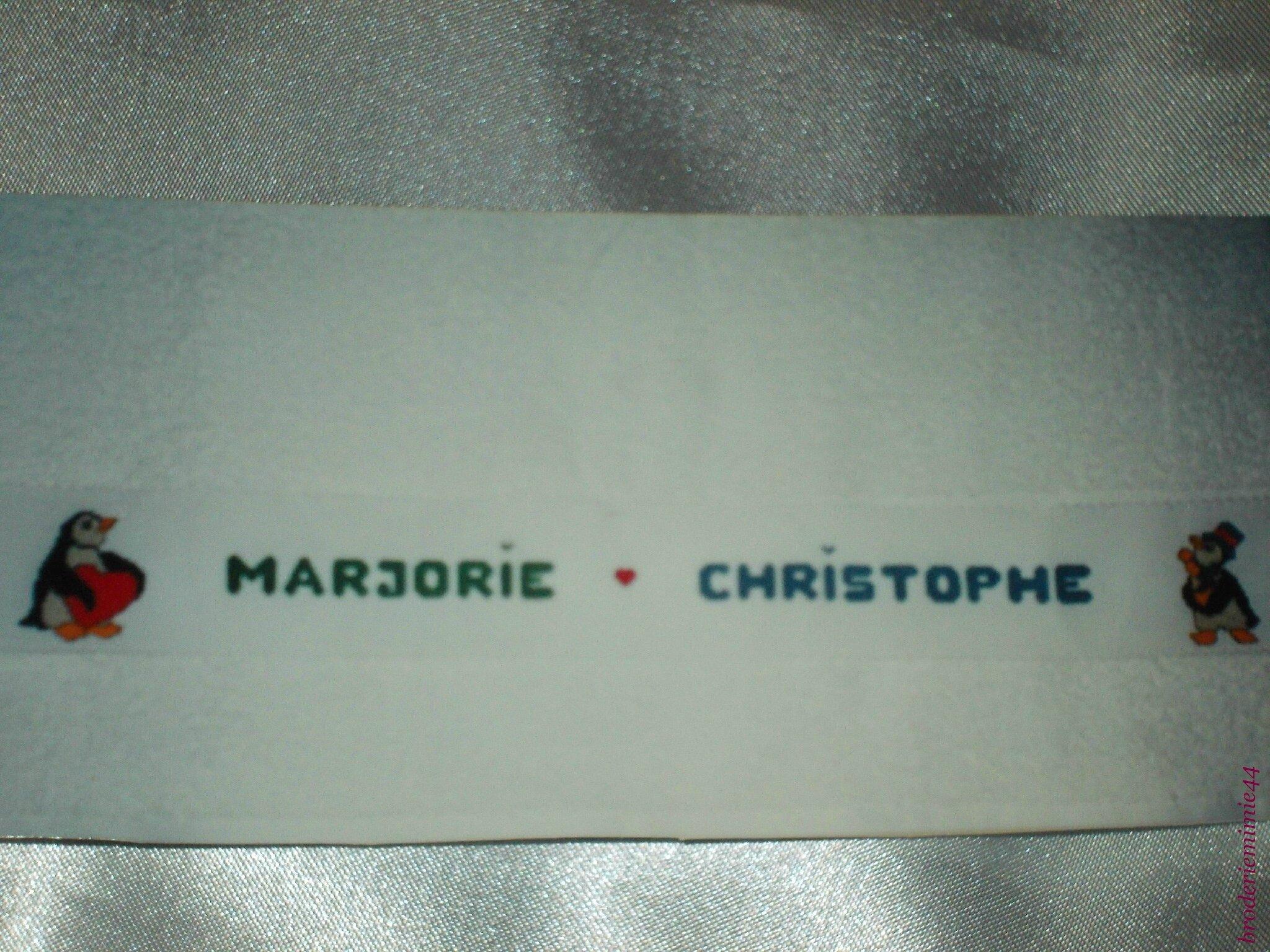 MARJORIE & CHRISTOPHE - PINGOINS