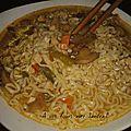 Soupe aux nouille chinoise 25 pp pour la recette