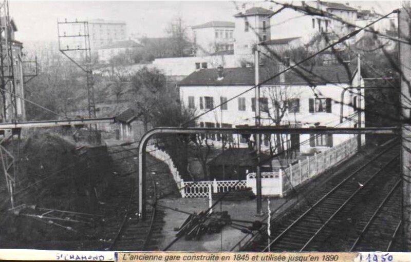 photo 1950 première gare
