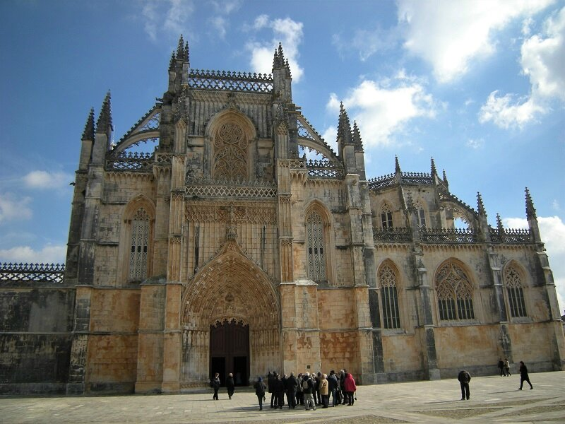 portugal Batalha monastere dominicains 1402-1438