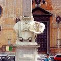 elephant du Bernin soutient une obélique égyptienne ROME