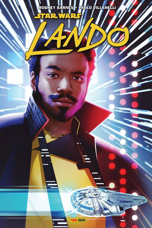 panini star wars lando quitte ou double