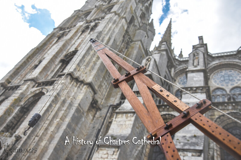 grue médiévale A history of Chartres Cathedrale – Time Travel (1)