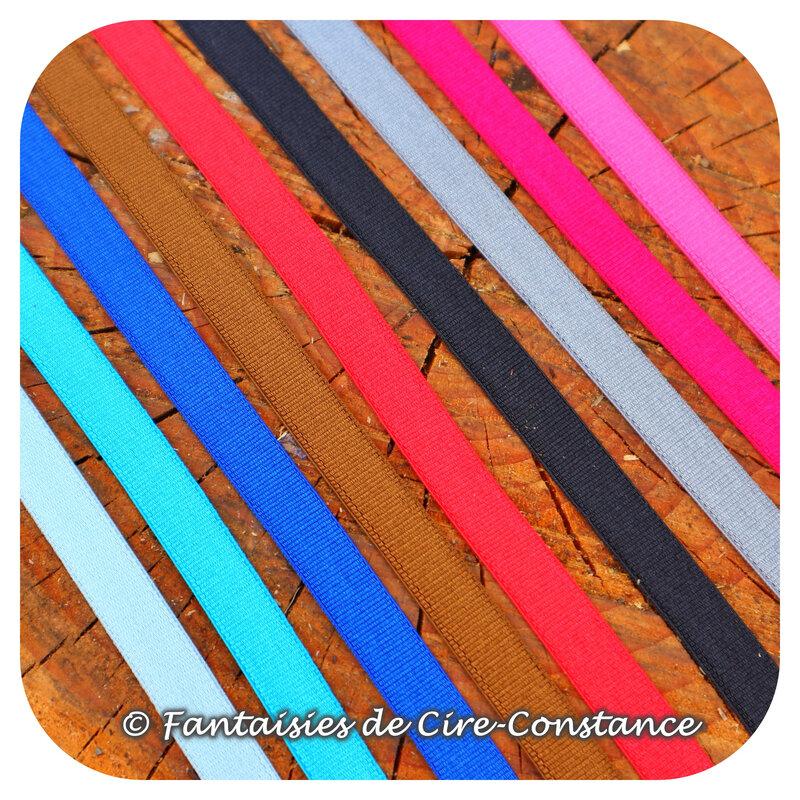 rubans élastique 9 mm