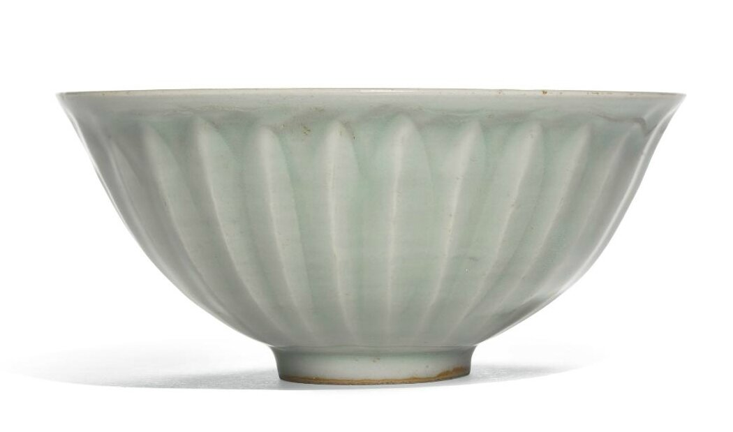 A 'Longquan' celadon 'lotus' bowl, Southern Song dynasty