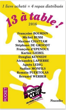 13 A TABLE ! 2016 - EDITIONS POCKET - COUVERTURE