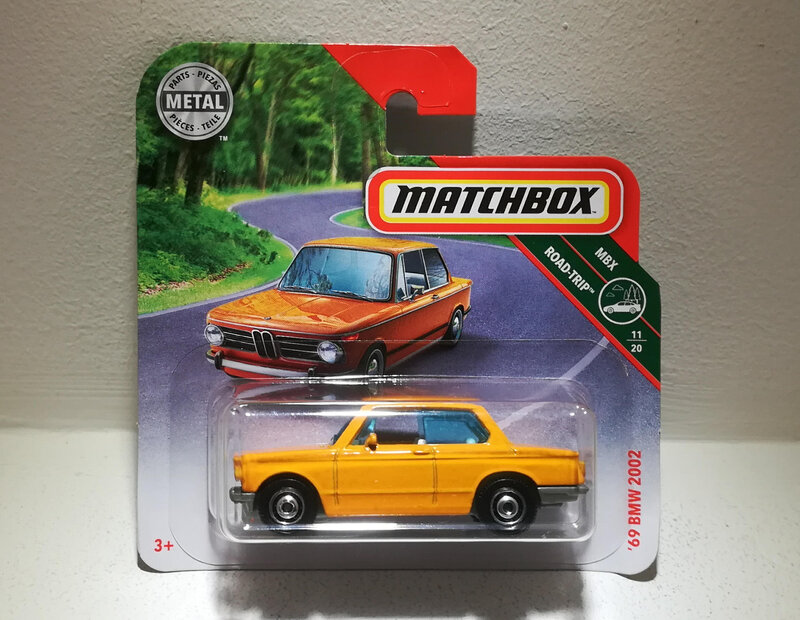 Bmw 2002 de 1969 (Matchbox)