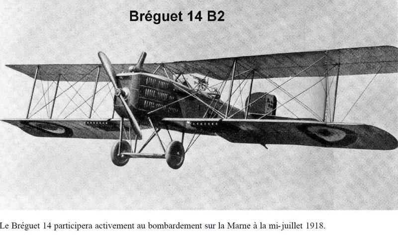 Avion Breguet 14B2