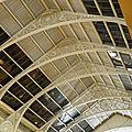 Le beau plafond ancien du musée d'archéologie