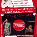 1er festival de theatre a groslay