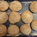 Petits pains hamburger