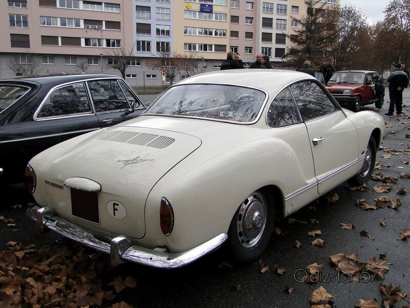volkswagen type 14 1600 karmann ghia coupe 1955 1970 b