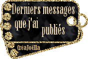 Derniers messages publiés