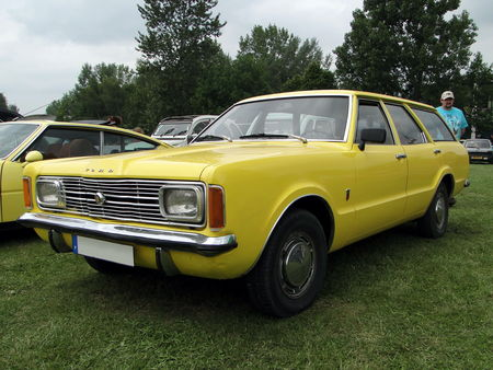 FORD Taunus XL Break (TC1) 1970 1975 Retro meus Auto Lac de Madine 2010 1