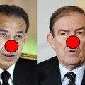 Jean-Louis & Roger un nez rouge pour leurs errements dans l'affaire Erignac