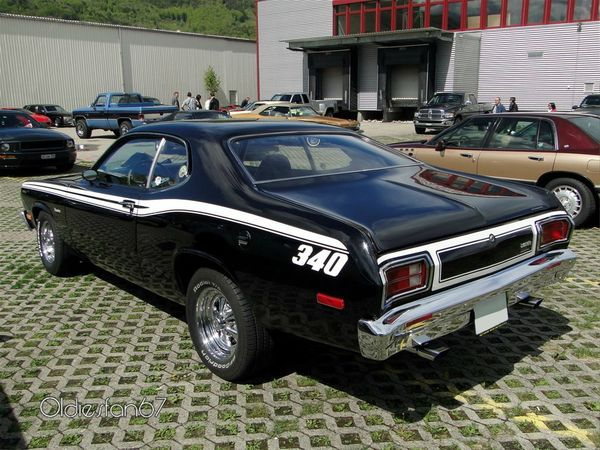 plymouth duster 340 fastback coupe 1973 b