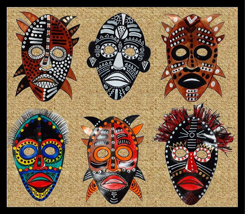 354-MASQUES-Masques africains (130d)