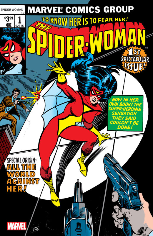 spider-woman 1978 01 facsimile