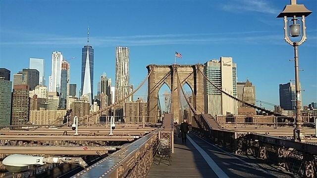 Vue du pont de Brooklyn ©Kid Friendly