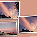Nuages coucher de soleil 150918