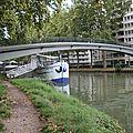 Passerelle enjambant le Canal du Midi