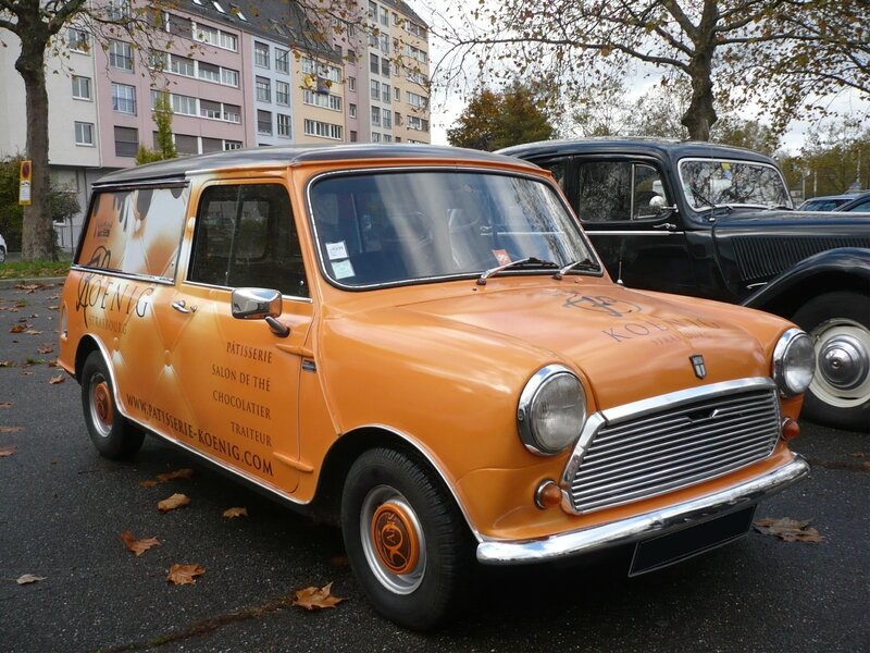 MINI Estate 1964 Total Covering publicitaire par Comonéo Strasbourg (1)