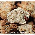 Cookies moelleux okara baies de goji (thermomix ou pas )