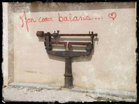 Mon coeur balance 1