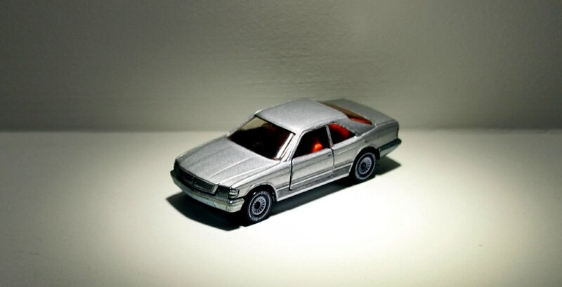 Mercedes 500SEC (ref 1052)(Siku) 01