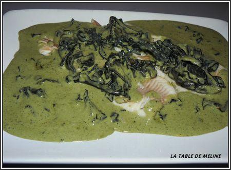 Filets de truite + choucroute et pintade 010