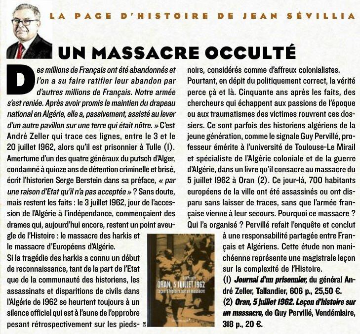 Un massacre oublié Le Fig Mag 4 juillet 2014