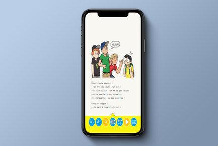 Une bibliothèque numérique pour enfants dyslexiques