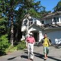 Premier contact avec le canada, une semaine chez l'habitant, à victoria, sur l'île de vancouver...