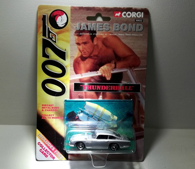 Aston Martin DB5 (Collection James Bond) Corgi