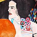 D'après Klimt : Judith